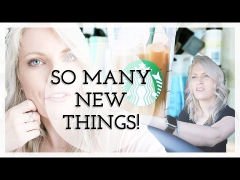 SO MANY NEW THINGS!