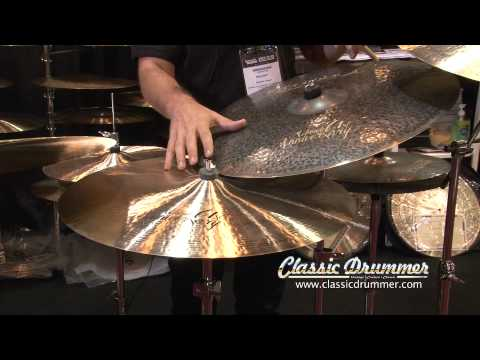 Summer NAMM 2011 Istanbul Cymbals Booth by Classic Drummer Magazine