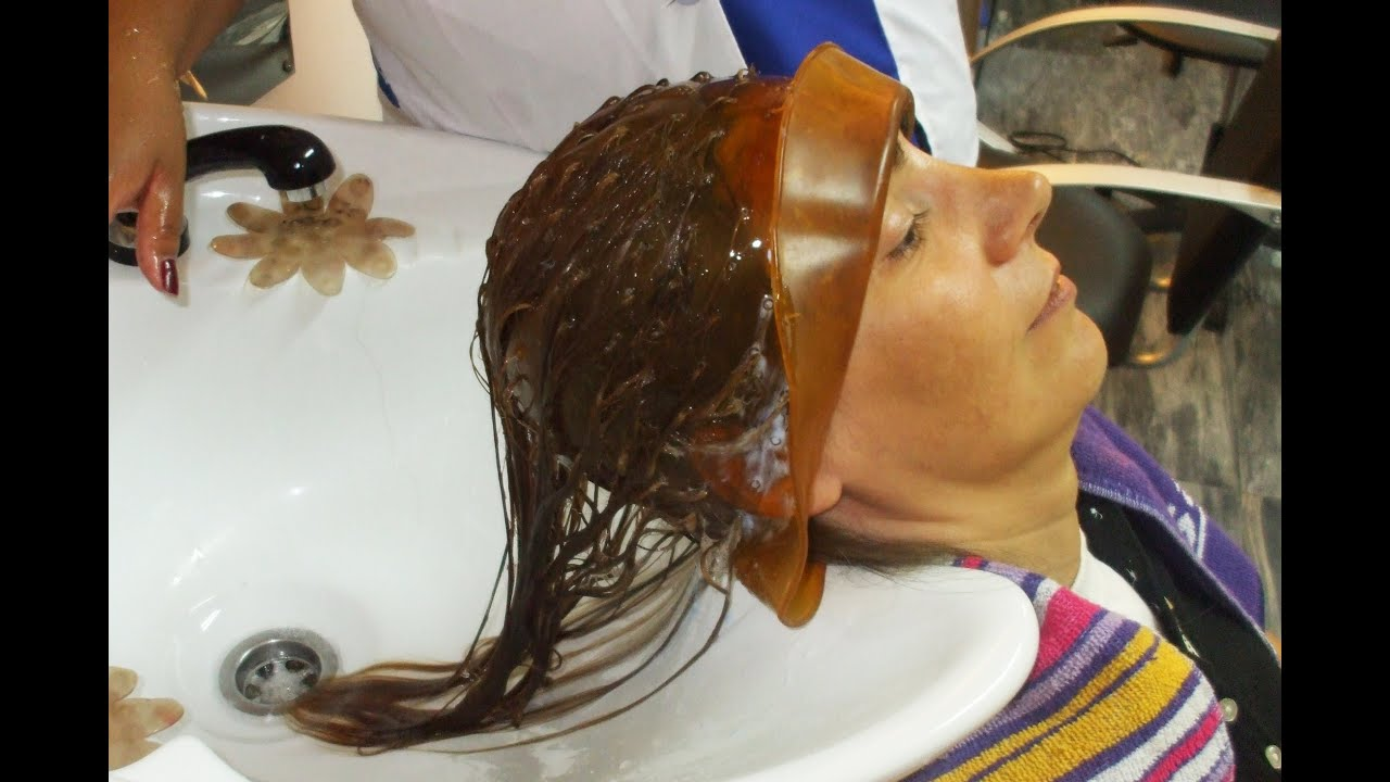 Complete hair change coloring with rubber cap shampoo haircut and complete hair change coloring with rubber cap shampoo haircut and curls with iron youtube winobraniefo Gallery