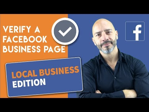 Verify A Facebook Page For A Local Business