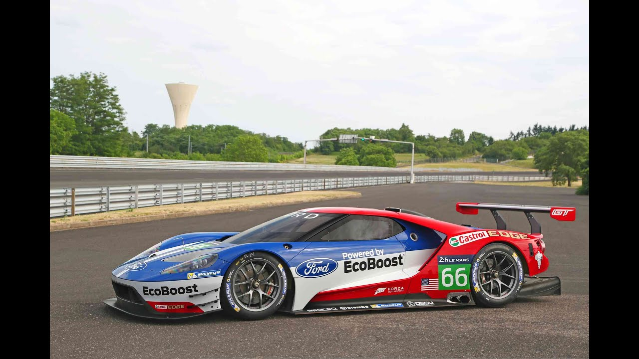 Ford Gt Lm Gte Pro  Imagenes Oficiales