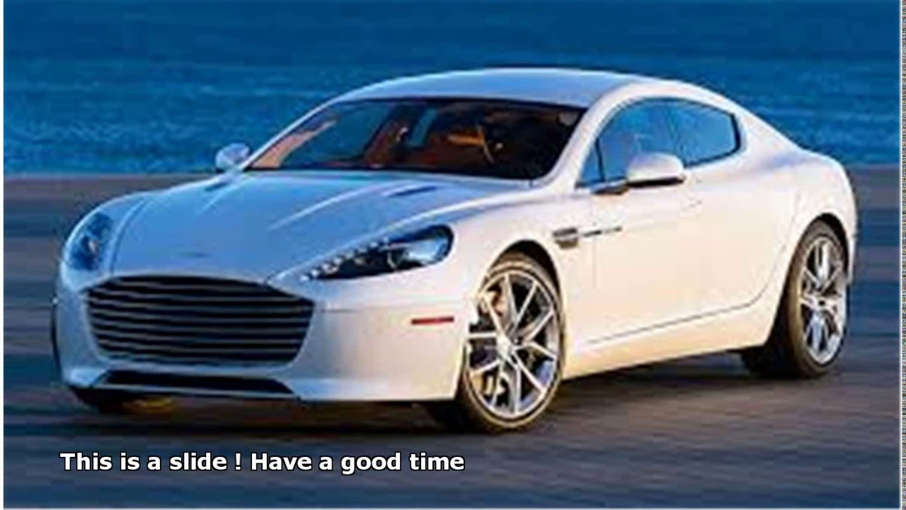 aston martin 4 door 2017 - YouTube