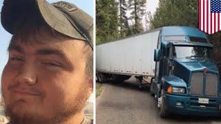 ポテチを載せたトラックが立ち往生 森で4日過ごすもポテチに手を付けなかった運転手 - トモニュース