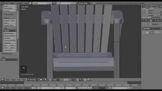 Blender Tutorial: Adirondack Chair Part 1