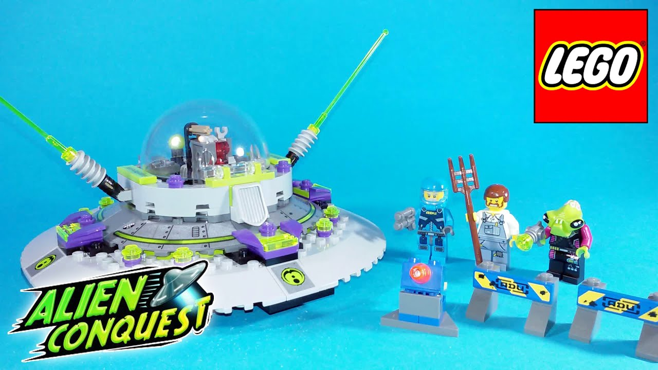 Lego Alien Invasion 3 - YouTube |Lego Alien Invasion