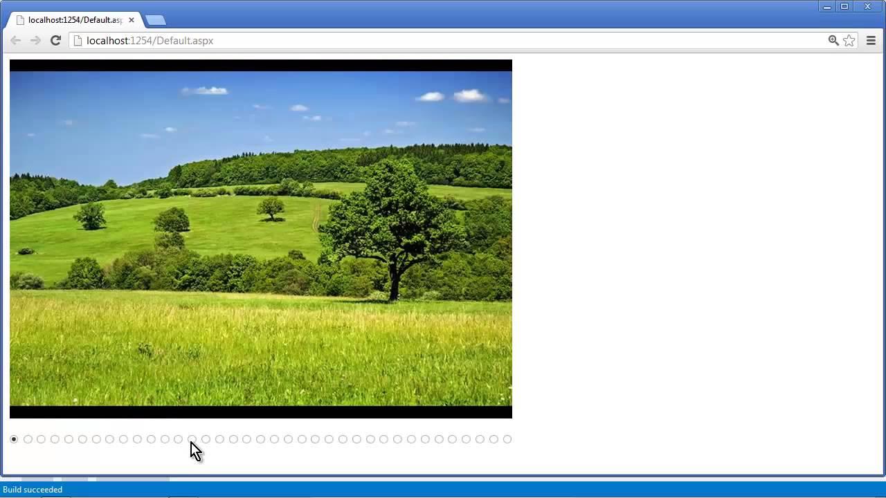 ASP NET Image Slider - Getting Started