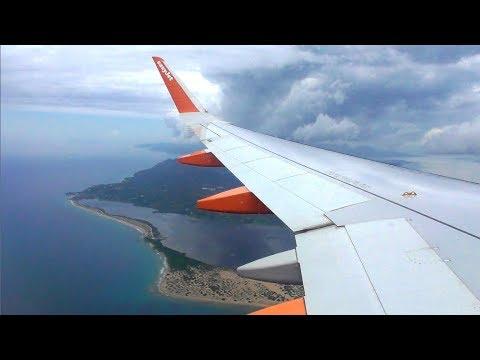Easyjet Airbus A320-214   London Luton To Corfu *FULL FLIGHT*