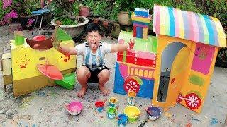 Trò Chơi Bé Pin Giải Trí Màu ❤ ChiChi ToysReview TV ❤ Đồ Chơi Trẻ Em Baby Doli Fun Song Bài Hát Thơ