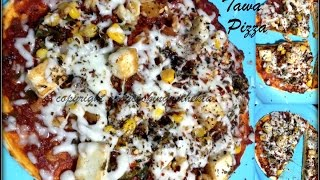 Tawa Pizza Recipe in Hindi | How To Make Pizza On Pan Or Tawa | No Oven – No Yeast Pizza Recipe