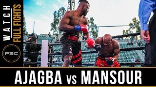 Ajagba vs Mansour FULL FIGHT: March 9, 2019 - PBC on FOX