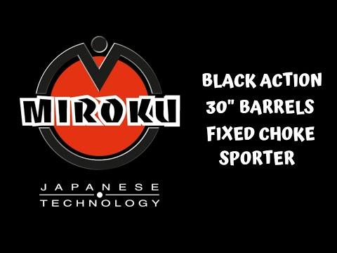 Miroku Sporter MK60 - Black Action Miroku Shotgun