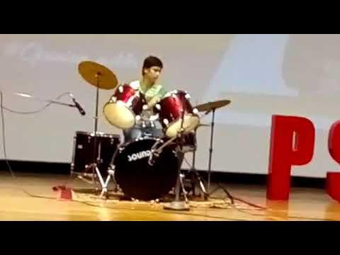 Kaustubh Shukla Drum Performance at PSIT Talent Hunt