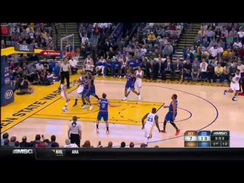Golden State Warriors Ball Screen Action Set By Guard