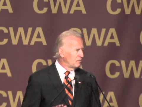CWA's 2009 Convention: Joe Biden