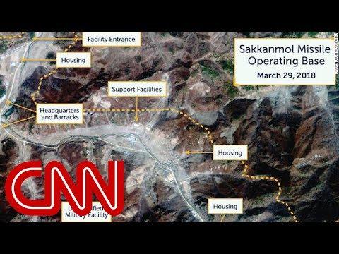 Satellite images reveal hidden North Korean missile bases