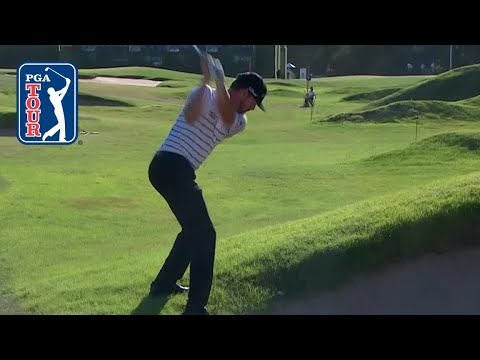 Jimmy Walker's miraculous shot from awful lie at AT&T Byron Nelson