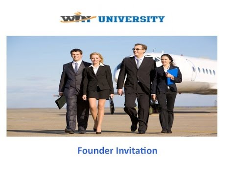 WIN Founder Invitation Video