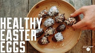 How To Make Healthy Coconut Chocolate Eggs