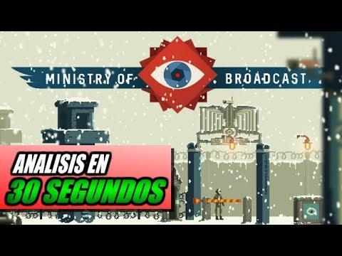 Análisis MINISTRY OF BROADCAST en 30 SEGUNDOS!  Opinión y review en español