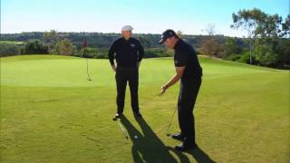 Phil Mickelson Hits Flop Shot Over Roger Cleveland