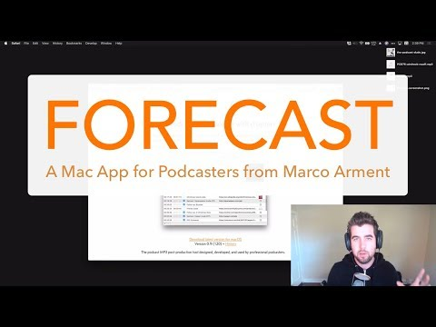 Forecast by Marco Arment—What It Is, How It Works, and Why Podcasters Should Take aLook