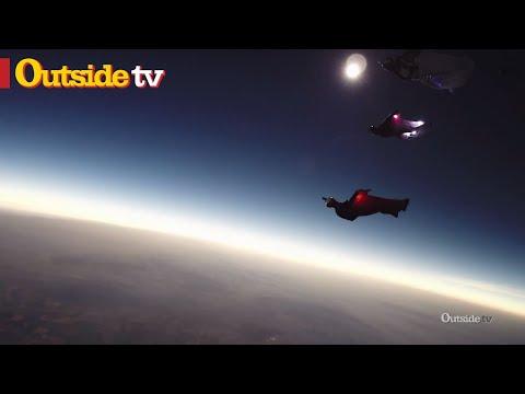 Marshall Miller's Full Solar Eclipse Wingsuit Flight