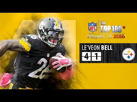 #41: Le'Veon Bell (RB, Steelers)   Top 100 NFL Players of 2016