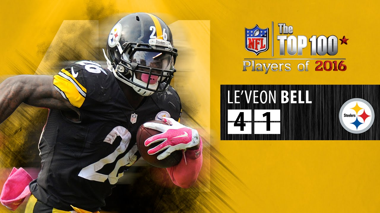 41 Le Veon Bell RB Steelers
