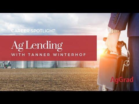Working In Ag Lending