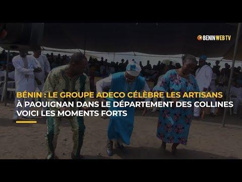 Bénin - fête du travail : le groupe ADECO célèbre les artisans à Paouignan