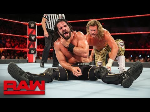 Dolph Ziggler vs. Seth Rollins - Intercontinental Championship Match: Raw, June 25, 2018