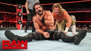 Dolph Ziggler vs. Seth Rollins - Intercontinental Championship Match: Raw, June 25, 2018