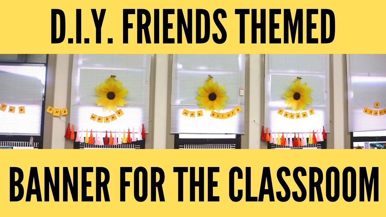 Classroom Friends Banner
