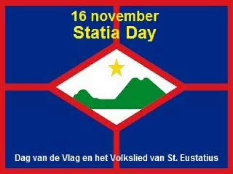 16 november Statia Day