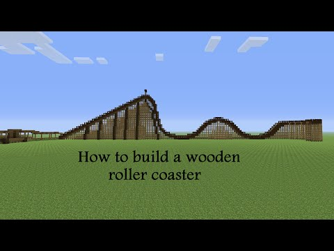 How to build a wooden roller coaster part 3