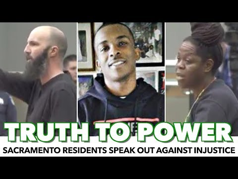 Sacramento Residents Passionately Speak Out Against Injustice