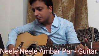 Neele Neele Ambar Par From Movie Kalakar Guitar Cover!!!