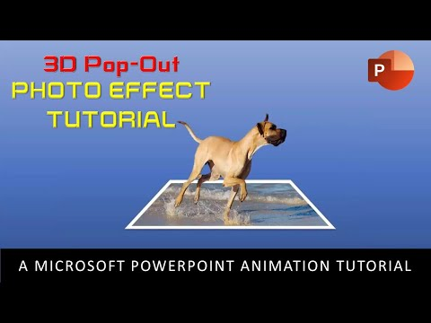 3D Pop-Out Photo Effect | PowerPoint 2016 Motion Graphics Tutorial | The Teacher