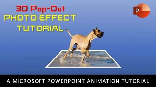 3D Pop-Out Photo Effect | PowerPoint 2016 Motion Graphics Tutorial
