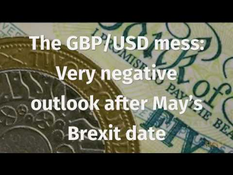 The GBP/USD mess: Very negative outlook after May's Brexit date