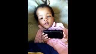 Baby J sings