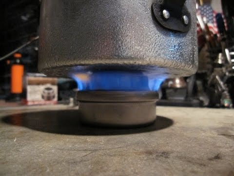 Evernew Titanium Alcohol Stove   Boil Test #3