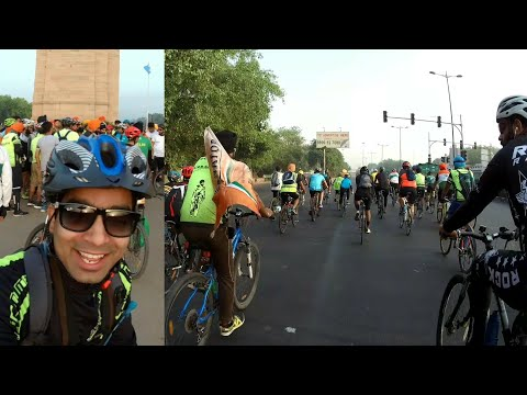 Lots of Cyclist Riding | Vaisakhi Ride Turbanators | Fat Biker Vaibhav