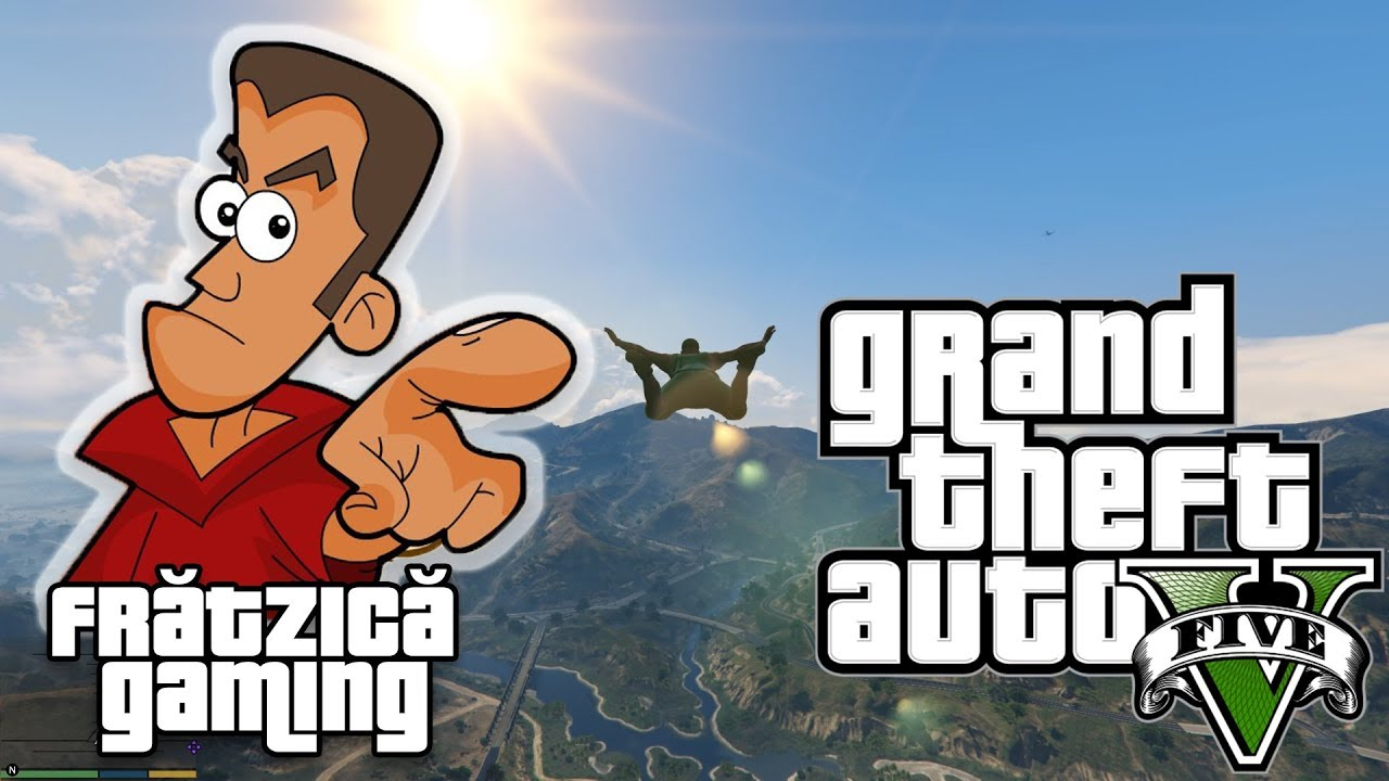 GTA 5 Ep.5 - Am Zburat! - Fratzica Gaming