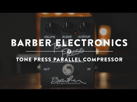 Barber Electronics Tone Press Compressor | Reverb Demo Video