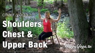 Chair Yoga | Happy Yoga With Sarah Starr  | Volume 5