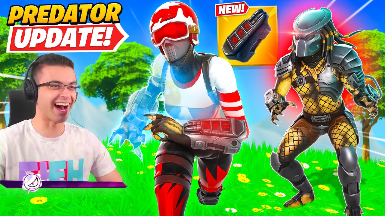 Nick Eh 30 reacts to NEW Invisibility Mythic Item!