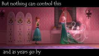 Frozen - (Elsa) Touch of ice - VideoClip - lyrics