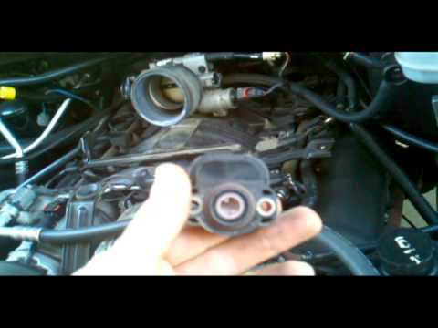 Ram 1500 throttle position sensor replacement - YouTube