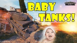 World of Tanks - Funny Moments | BABY TANKS! (WoT, May 2018)